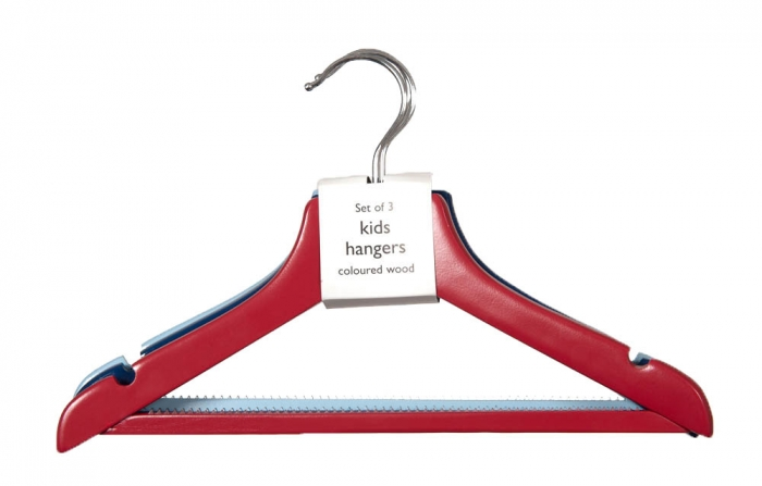 Childrens Clothes Hangers Girl Gloss