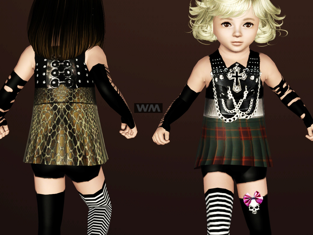 Children and Toddler Punk Clothes | Girl Gloss