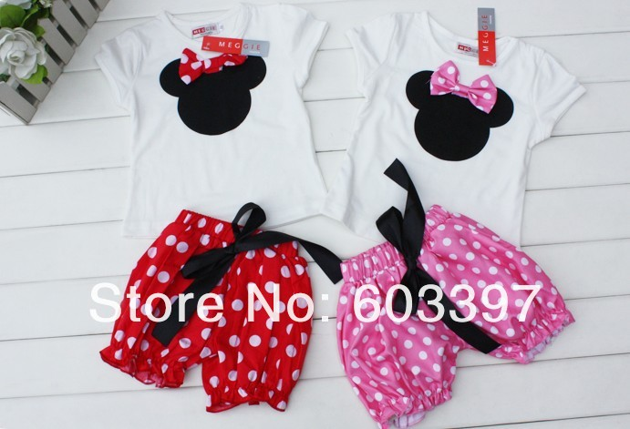 Minnie Mouse Toddler Clothing Girl Gloss