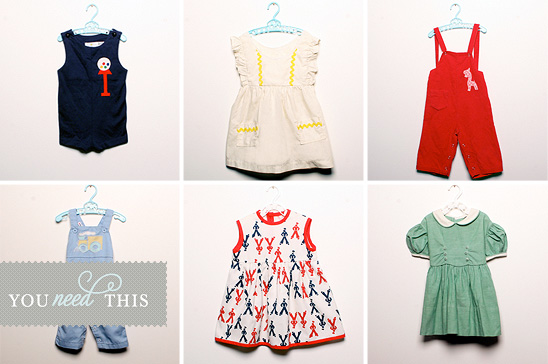 Vintage Children S Clothes Girl Gloss