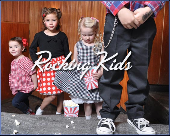 rockabilly kids clothes
