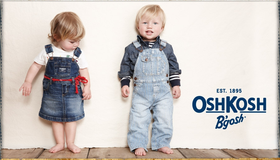 "Oshkosh B'Gosh, known as ""the genuine article"", has a storied heritage of over years of making durable kids clothes. Founded in as a denim overalls manufacturer for farmers and railroad workers in the surrounding communities of Oshkosh, Wisconsin, the company grew even more when it started making children's versions."