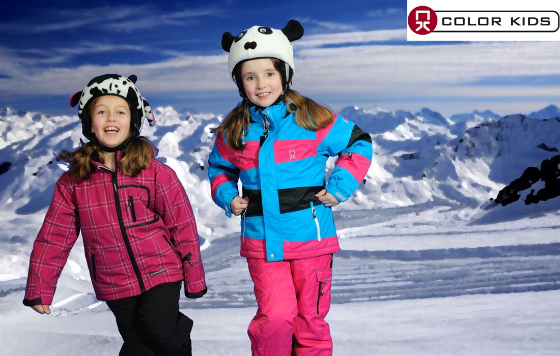Children S Ski Clothes Girl Gloss