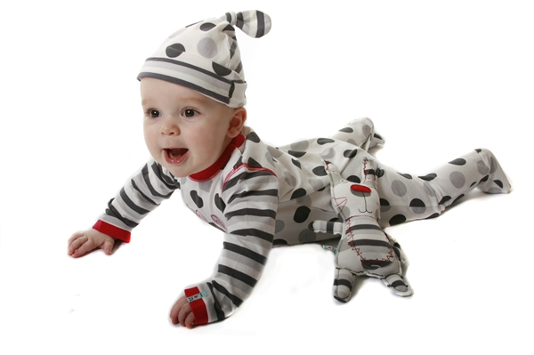 polka dot baby clothes