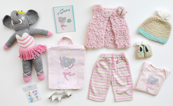 elephant baby clothes