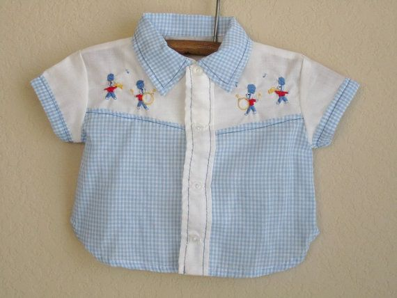 Vintage Baby Boy Clothes Girl Gloss