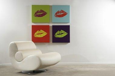 DNA 11 Kiss Portrait M.A.C Viva Glam Custom Art