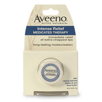 Aveeno lip therapy medicated balm