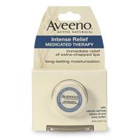 Aveeno lip therapy medicated balm