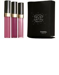 Chanel Lip GLoss Trio Glossimer Gift Set