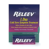 Releev cold sore treatment