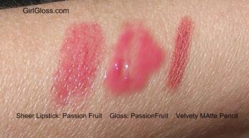 Sonia Kashuk Lipstick and Gloss Passion Fruit