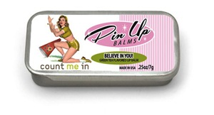 Pin Up Lip Balm Count Me In