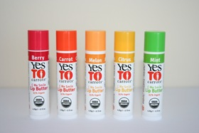 Yes to Carrots Lip Butters