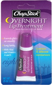 chapstick overnight lip treatment