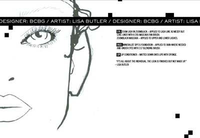 BCBG face chart MAC Cosmetics