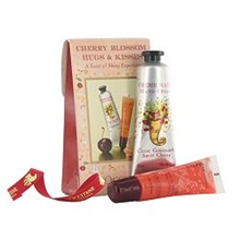 L'Occitane lip gloss cherry