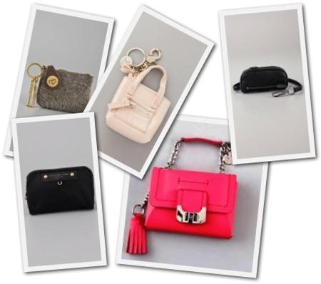 designer bag keychains