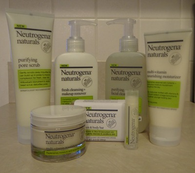 Neutrogena Naturals Products