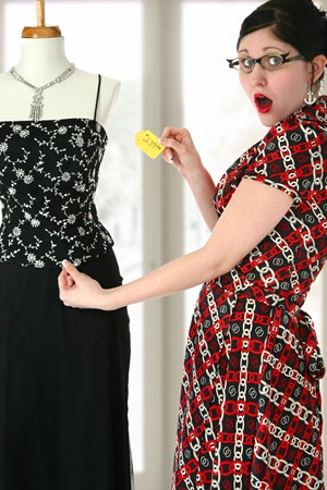 clothing sticker shock