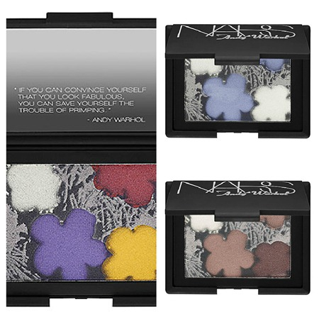 NARS Andy Warhol Flowers Palettes
