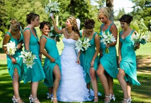 Bridesmaid Dresses For Spring Wedding 50 Popular Tiffany Blue Bridesmaid Dresses