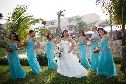 Tiffany Blue Bridesmaid Dresses Mori Lee