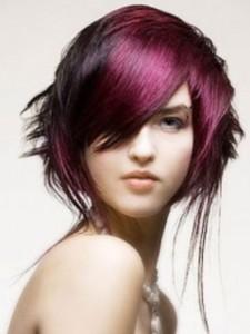 hair color ideas for dark hair purple