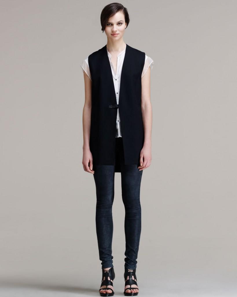 cashmere leggings and vest