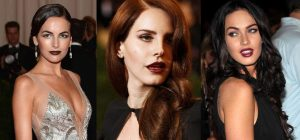Dark Lips Fall 2013 Makeup Trend
