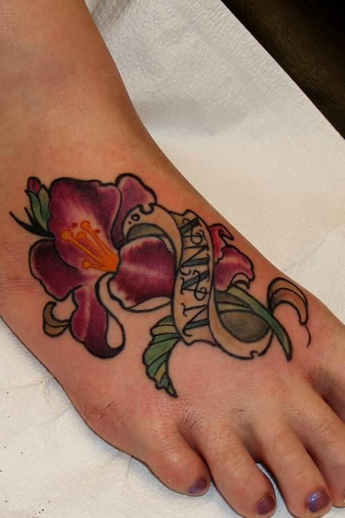 Gladiolus Tattoo Image