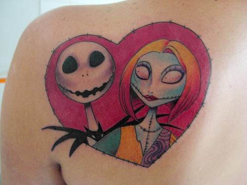 Jack Skellington Tattoo Drawings