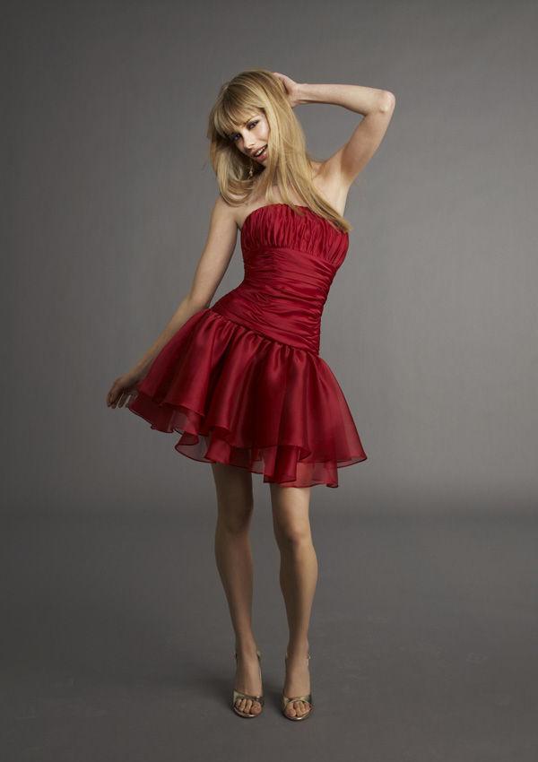 Red Party Dress Junior Dance Dresses