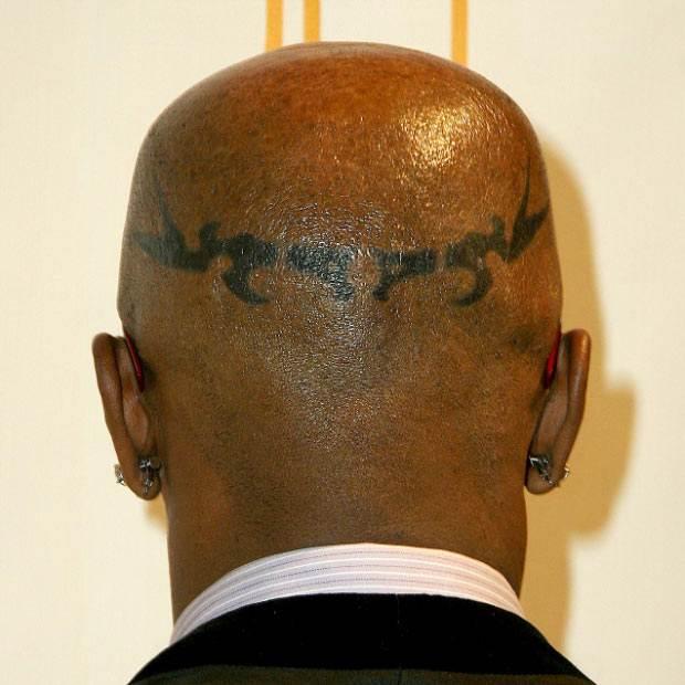 jamie foxx head tattoos photos