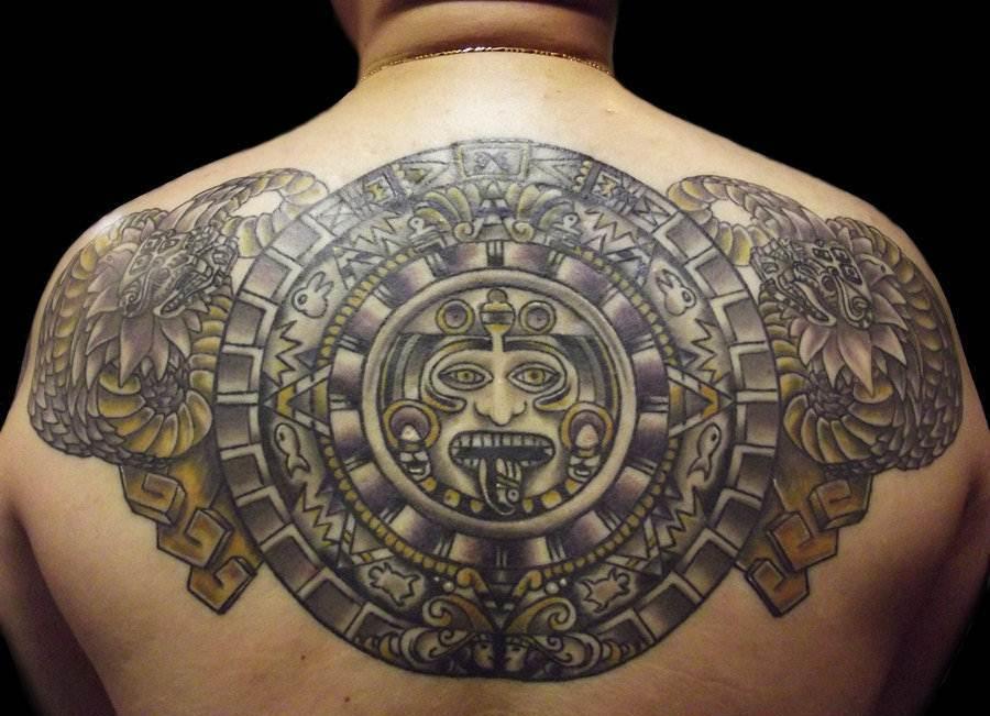 Mayan Tattoo Designs Girl Gloss