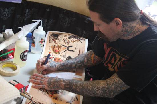 Oliver Peck Tattoos Gallery Oliver Peck Tattoo Pic...