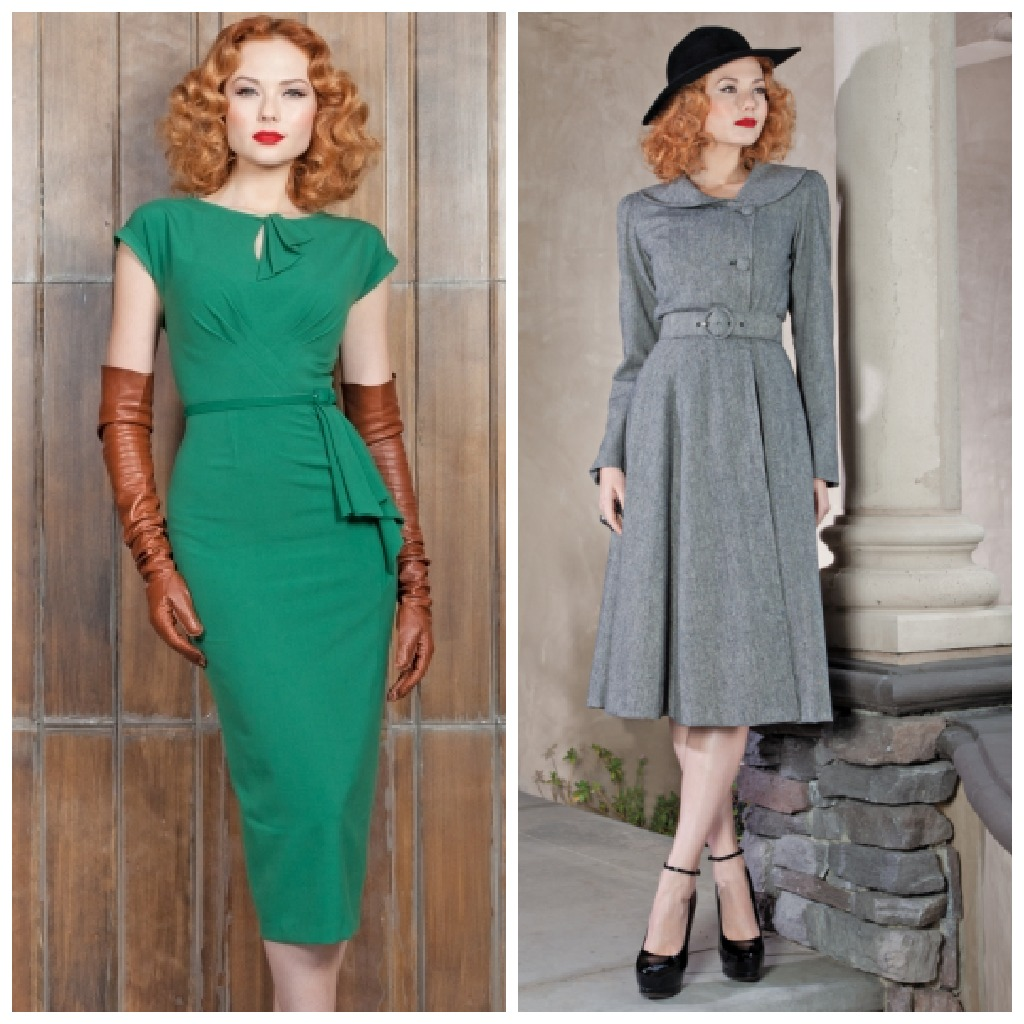 Get A Trendy Vintage Look With Retro Dresses Girl Gloss