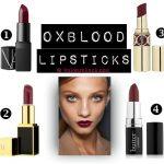 Oxblood Lipstick Trend