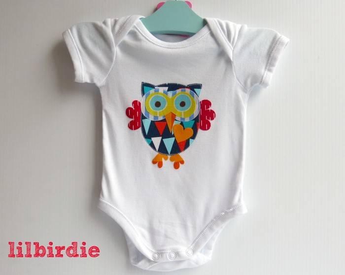 owl infant onesie