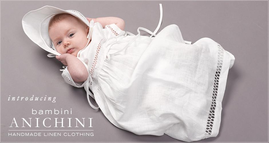 handmade linen baby clothes