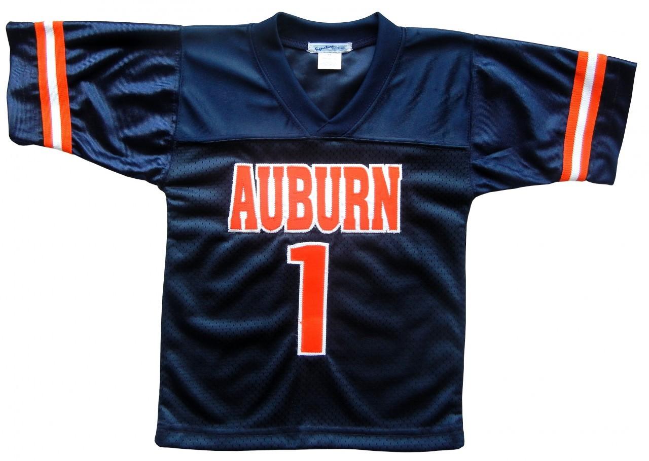 Auburn baby boy jersey