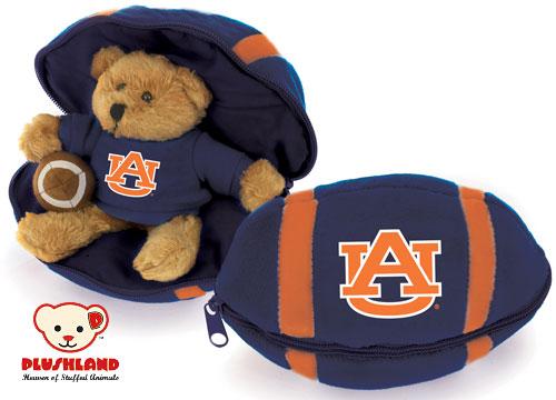 Auburn teddy bear