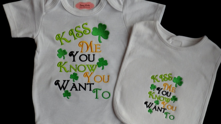 Irish theme baby clothes