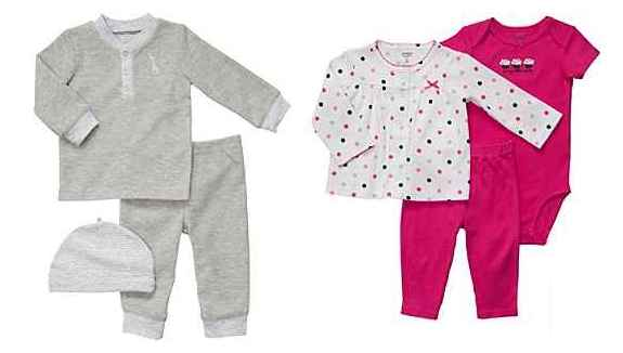 new carters baby clothing