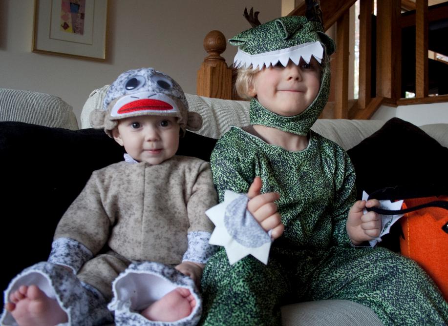 sock monkey baby costumes