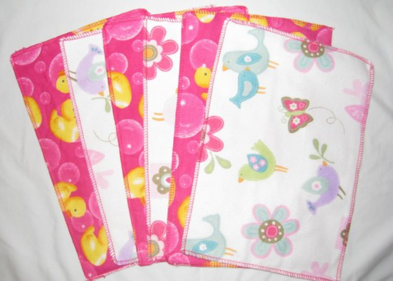 cute bird pattern baby wipes