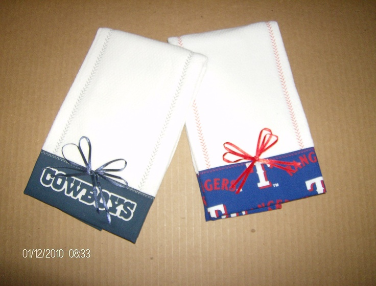 dallas cowboy baby towels