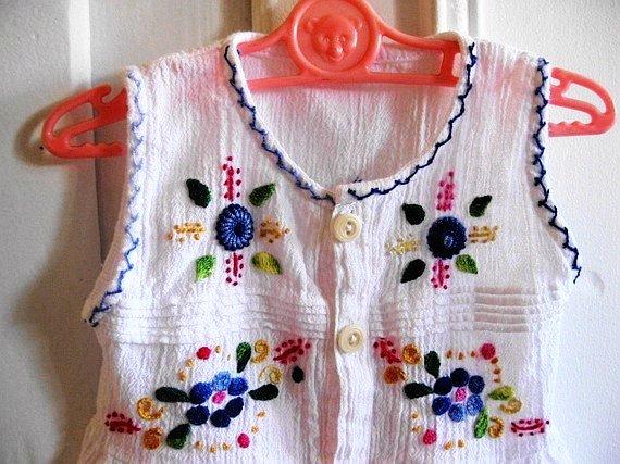 boho kid's dress