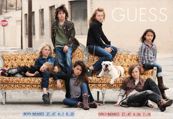 guess children's clothing