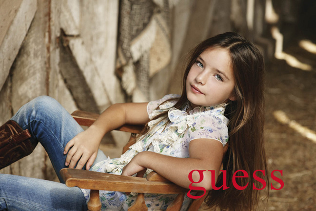 Guess Kids Clothing Girl Gloss
